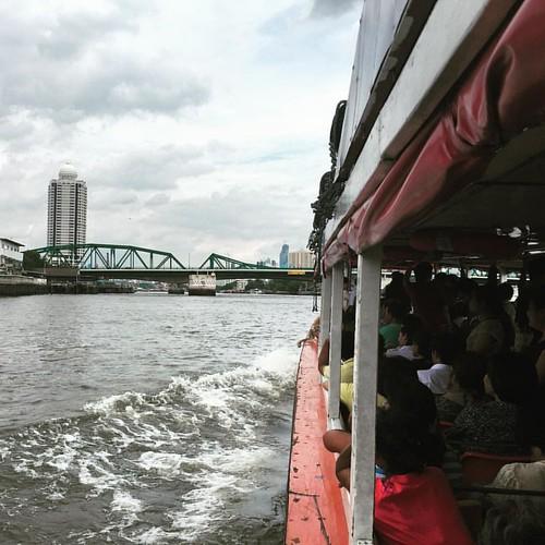 Riding the Chao Phraya #River  @ #Bangkok #Thailand #thailoup #traveloup
