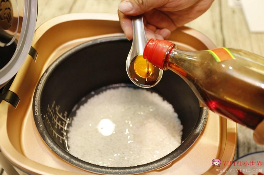 紫銅火紋鍋,電子鍋,飛利浦,飛利浦雙向智旋IH電子鍋,食譜,麻油雞酒飯 @VIVIYU小世界