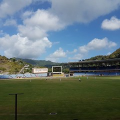 #happyplace #cricketlovelycricket #WWDvsT&T #WindwardsvsTT @windiescricket @WIRegional #4daycricket #cricket #getmojoback #mojo #Sundaycricket #grenada