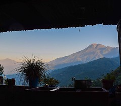 Day 243. Million dollar view from the back porch of some friendly Guatemalans who took me in for the night. So far this country has been unbelievably physically taxing but also the most welcoming. Everyone strikes up a conversation. Also, have internet fo