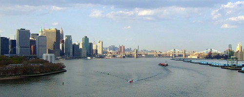 Brooklyn Bridge from Red Hook