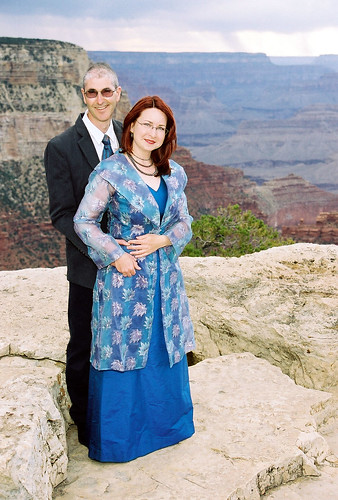 Our Wedding, Grandeur Point, Grand Canyon