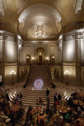 A city hall wedding