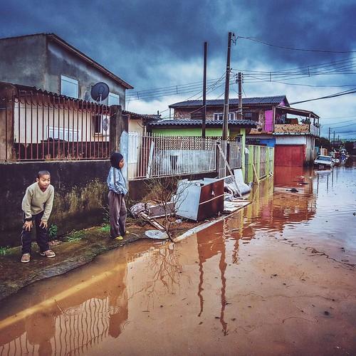 Enchentes no Rio Grande do Sul