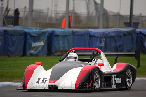 Paul Spencer in the Excool OSS Championship at Donington Park, October 2015
