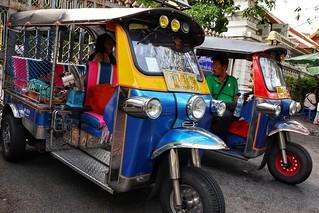 Tuk tuk, Bangkok
