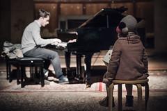 La musica ci affascina fino ad incantarci... (Reggio Emilia, dicembre 2017)