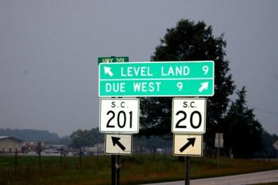 Strange Road Sign