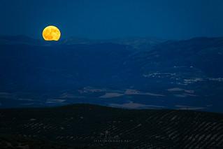 Luna llena en Cazorla y su sierra
