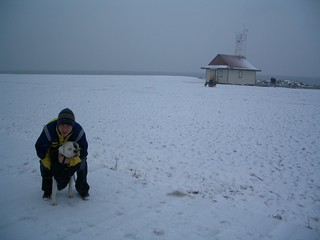 Winter Beach on Lake Ontario ~