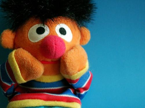 Home Alone - Starring Ernie, Sesame Street