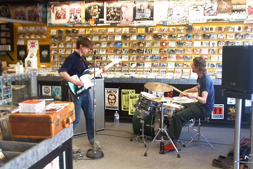 Museum Pieces live! in-store performance at Music Trader on June 1 2006