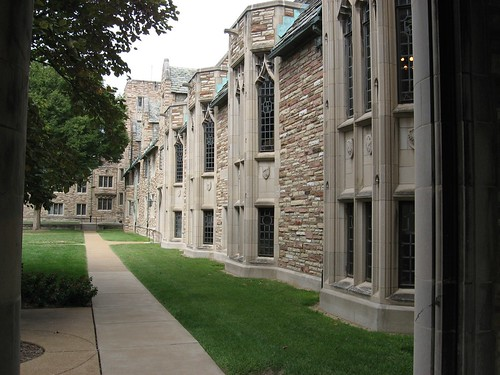 Concordia Courtyard, Side View