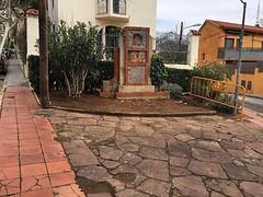 """❤️ Isaac Salvatierra: """"La regidora d'Urbanisme m'ha confirmat que """"es trasllada"""" la plaça dels 4 banquets uns metres perquè els cotxes que baixen del carrer de la Pau puguin girar pel carrer Mediterrània. Junts per Tiana desconeixíem la modificació"""