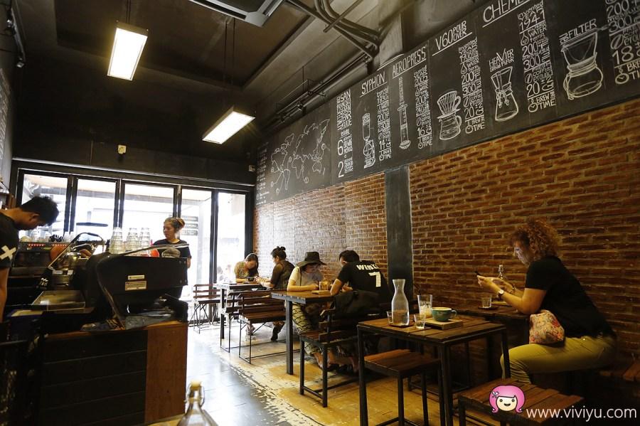 [清邁美食]清邁必喝咖啡館.Ristr8to~世界拉花比賽常勝軍.尼曼區文青店 @VIVIYU小世界
