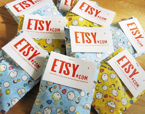 Etsy promo packs for Strange Folk Festival (2)