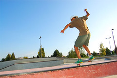 Local skateboarder