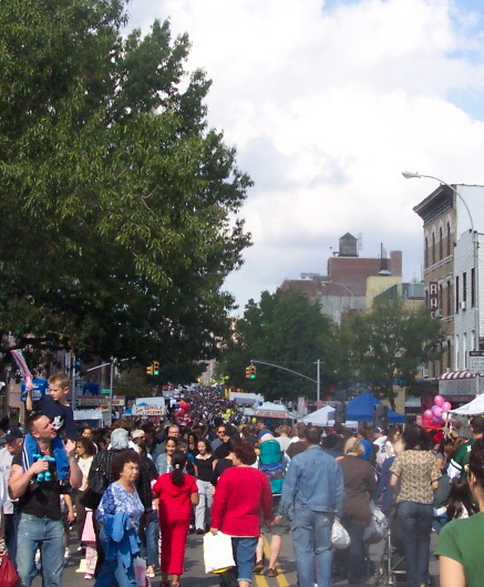Grand View of the Festival