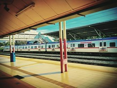 Kepong Kepong, 52100 Kuala Lumpur, Federal Territory of Kuala Lumpur https://goo.gl/maps/wGwB9KtL2212 #trip #travel #holiday #traveling #train #trainstation #railway #railwaystation #Asian #Malaysia #KualaLumpur #holidayMalaysia #travelMalaysia #火车 #火车站 #
