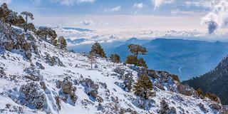 Vistas desde Sierra Mágina