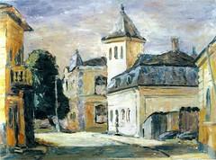 Peisaj romascan. pictura de Constantin Bârjoveanu