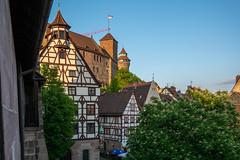 Nürnberg, Albrecht-Dürer-Haus und Burg
