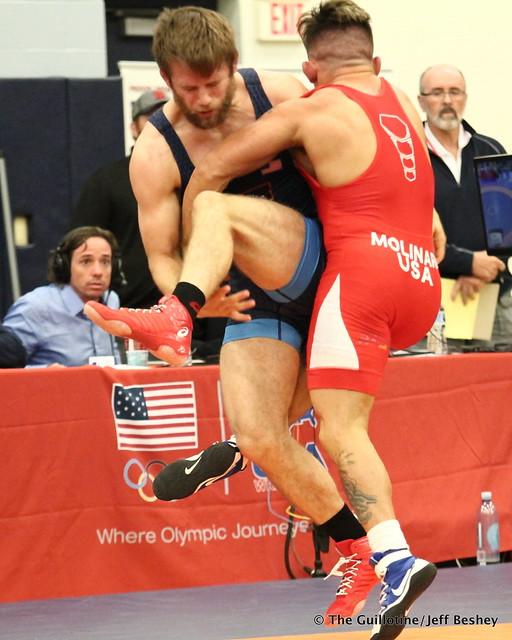 70kg: Jason Chamberlain (Titan Mercury) vs Frank Molinaro (Titan Mercury). 180520AJF0454