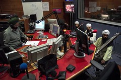 Harjinder Singh & Jatha at BBC Asian Network Radio