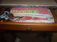 Scrapbooking Projects to Work On Drawer