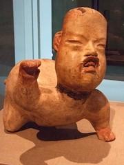 Crawling Baby Earthenware Olmec Culture 1200-9...