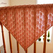 Pink Triangular Shawl