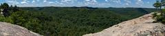 Panorama from Wizard's Backbone