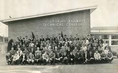 Victorian Rail Technical College - 1963 - Class Photo