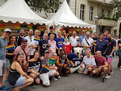 1. LSVD Sportempfang beim LS Stadtfest - Gruppenfoto ©LSVD, © berlinbullets