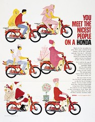You meet the nicest people on a Honda