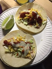 Grilled chicken taco #glutenfree #homemade #weekoftaco