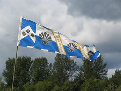 Gorgeous silk banner