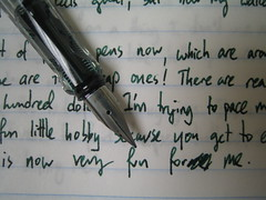 Writing sample: Lamy Vista