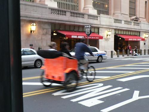 NewYork city rickshaw? (by Claudecf)