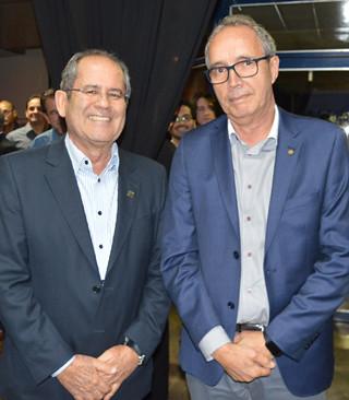 Júlio e Dr. José Maurício, presidente da Unimed