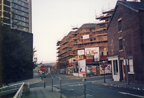 Sheffield Fire Station 1980s by sheffdave.