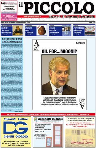 Oil For...migoni?