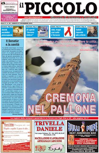 Cremona nel pallone