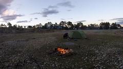 Lagerfeuer auf 2900müM