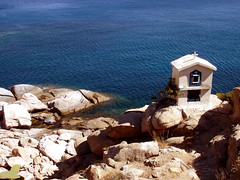 Ikaria 291 (isl_gr (away on an odyssey)) Tags: hiking papas beautyconcealed ikaria icaria  aegean trails steeple greece theisland stnicolas ege karkinagri hikingikaria     mavri  trailofthelighthouseguards