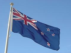 New Zealand Flag, Beehive
