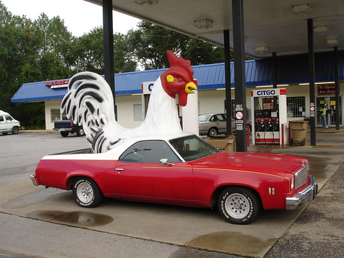 Rooster El Camino at Ms. Billie's in Irvington AL
