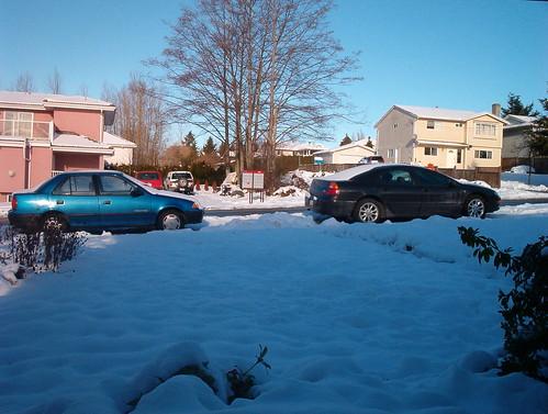 We got snow.. lots of snow