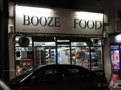 Booze Food!