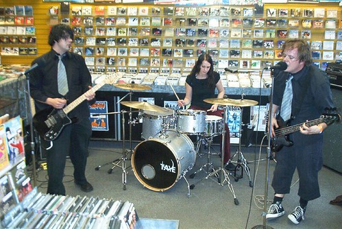 Ultimate Power Duo live! in-store performance at Music Trader on October 21 2006